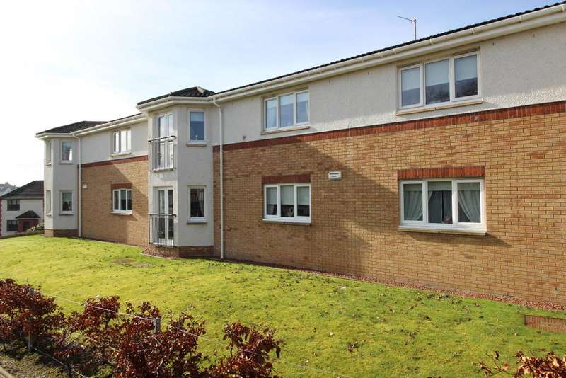 2 Bedrooms Flat for sale in 1 1/2 Milton Mains Court, Parkhall, G81 3NL