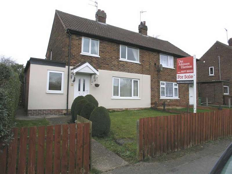 3 Bedrooms Semi Detached House for sale in Humber Crescent, Brough