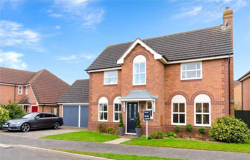 4 Bedrooms Detached House for sale in Milton Way, Sleaford, Lincolnshire, NG34