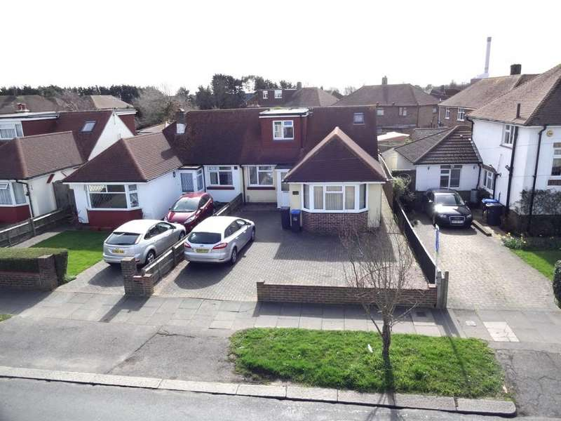 4 Bedrooms Semi Detached Bungalow for sale in Manor Hall Road, Southwick