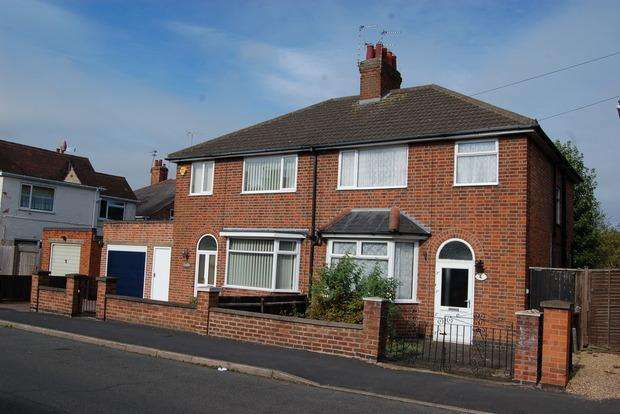 3 Bedrooms Semi Detached House for sale in Grangeway Road, Wigston, LE18