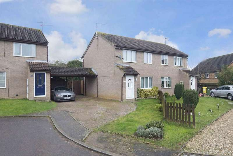 3 Bedrooms Semi Detached House for sale in Beech Close, Corby, Northamptonshire