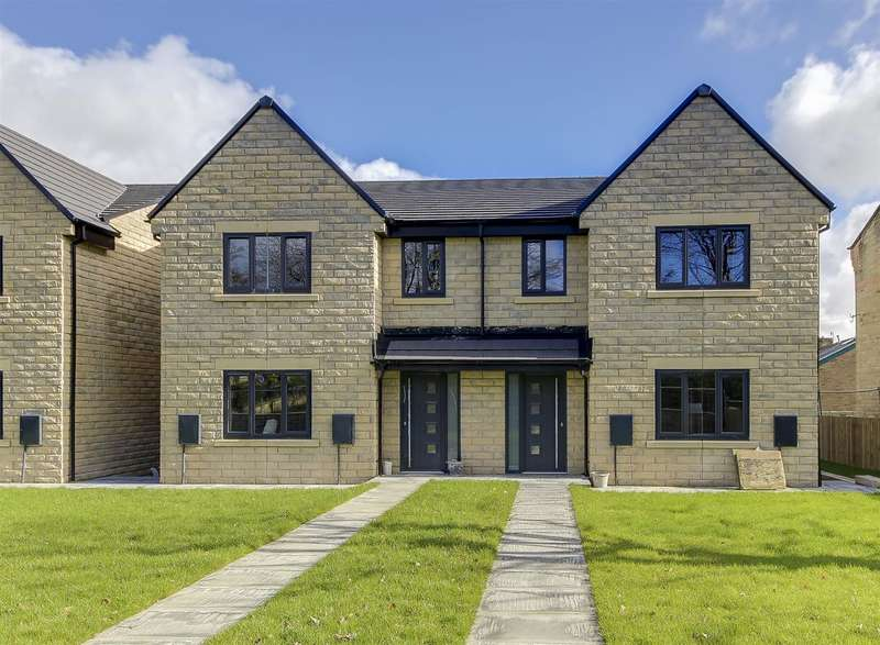 5 Bedrooms Semi Detached House for sale in Plot 3, Towneley View, Todmorden Road, Burnley