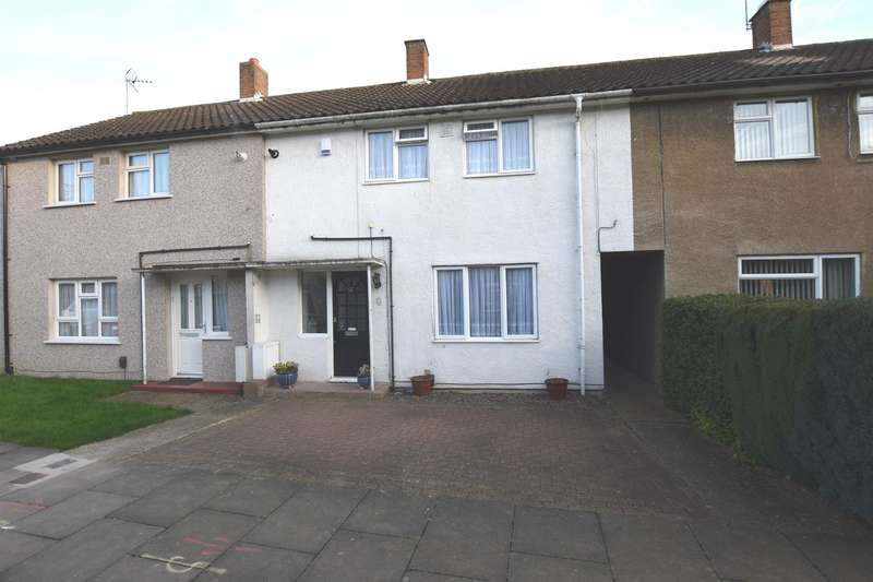 2 Bedrooms Terraced House for sale in Vicarage Wood, HARLOW, CM20