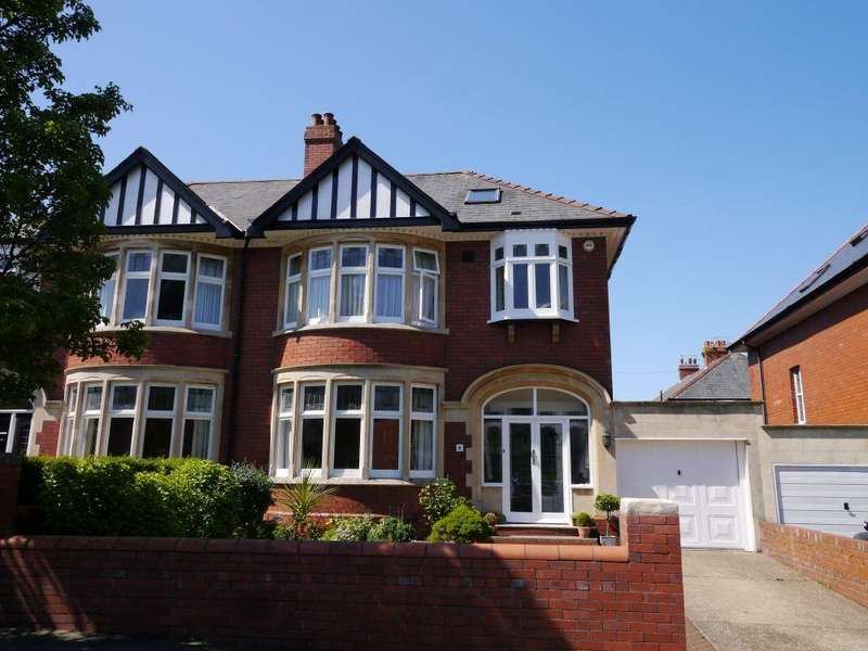 4 Bedrooms Semi Detached House for sale in Dyserth Road, Penarth