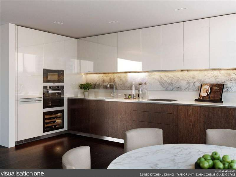 2 Bedrooms Flat for sale in Lillie Square, Seagrave Road, Earl's Court, London, SW6