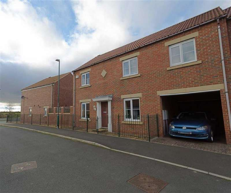 4 Bedrooms Semi Detached House for sale in Holderness Drive, Darlington