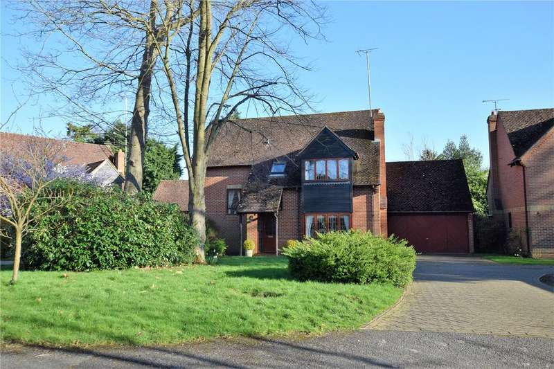 4 Bedrooms Detached House for sale in Oak Drive, Burghfield Common, Reading, Berkshire, RG7