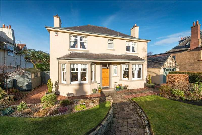 4 Bedrooms Detached House for sale in 7 Succoth Gardens, Murrayfield, Edinburgh, EH12