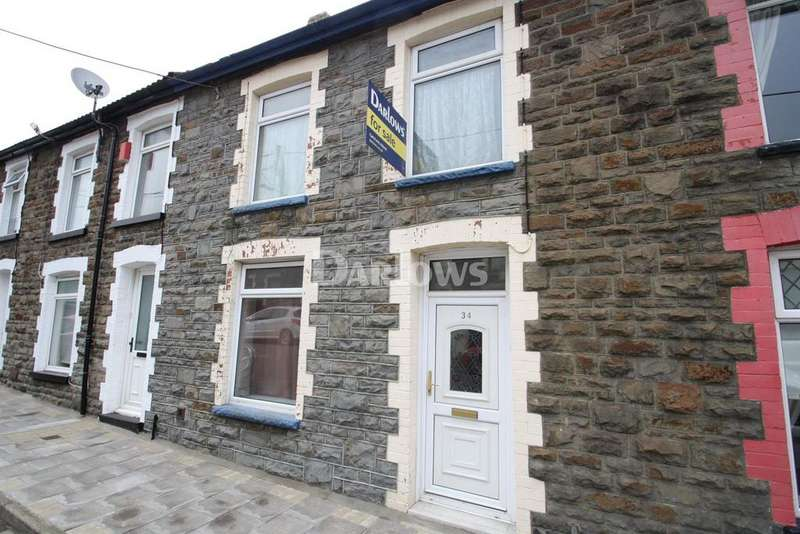 3 Bedrooms Terraced House for sale in Kenry St, Tonypandy