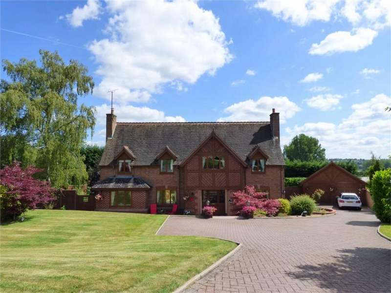 4 Bedrooms Detached House for sale in Doveleys Manor Park, Denstone, Staffordshire