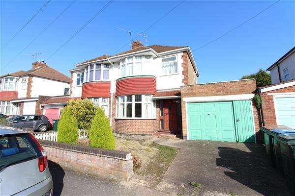 3 Bedrooms Semi Detached House for sale in Glover Street, Cheylesmore, Coventry