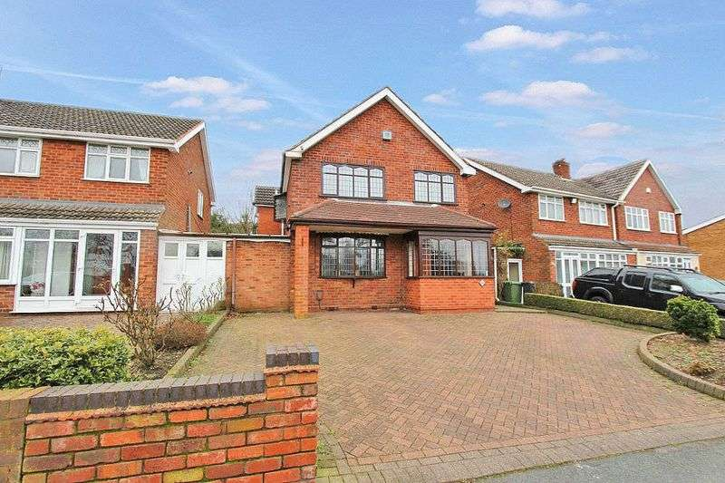 4 Bedrooms Detached House for sale in Stoney Lane,Bloxwich Walsall