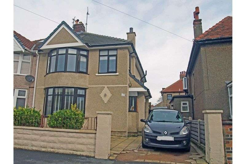 3 Bedrooms Semi Detached House for sale in Elkin Road, Morecambe
