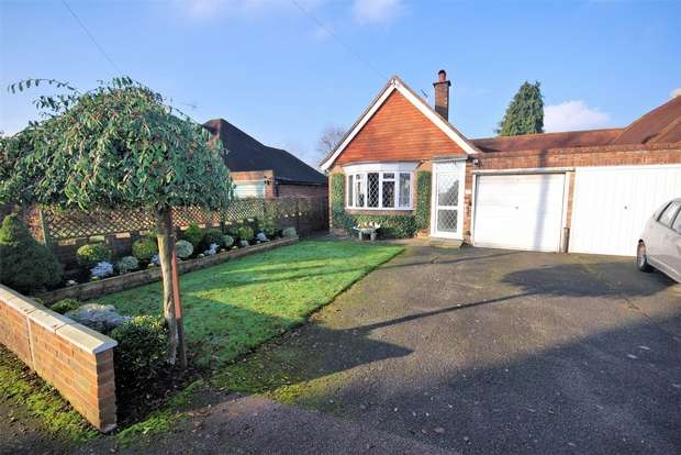 2 Bedrooms Semi Detached Bungalow for sale in Mitchell Walk, Amersham, Buckinghamshire