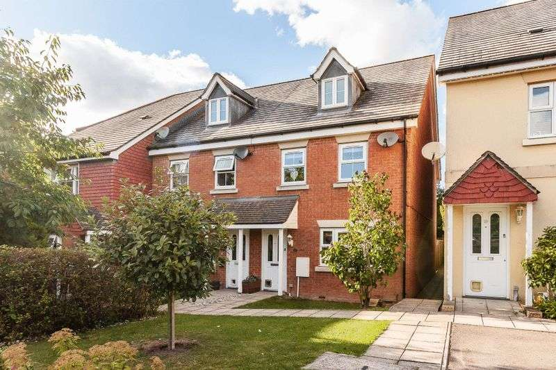 4 Bedrooms Semi Detached House for sale in Colvin Close, Andover