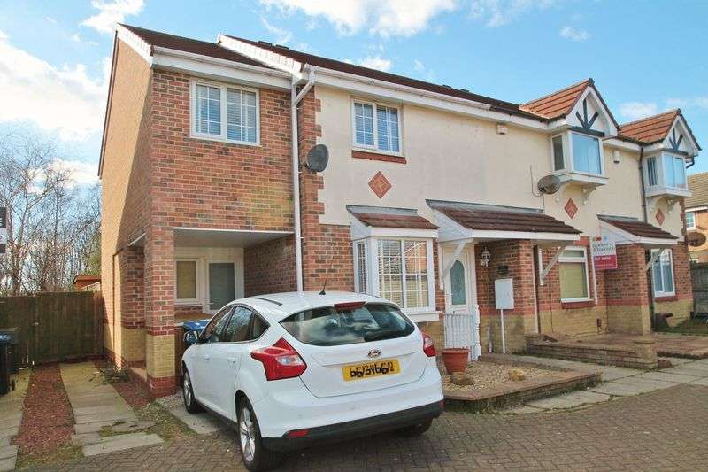 3 Bedrooms Terraced House for sale in Hatherley Court, Middlesbrough