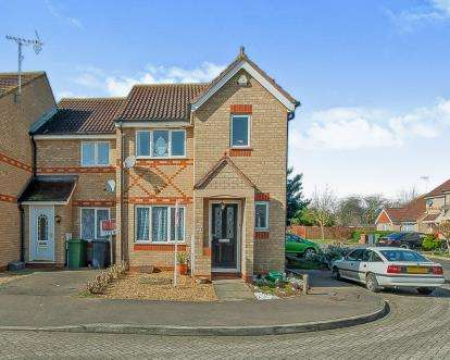 3 Bedrooms End Of Terrace House for sale in Portchester Close, Park Farm, Peterborough, Cambridgeshire