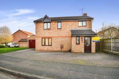 4 Bedrooms Detached House for sale in St. Mellion Way, Kirkby-In-Ashfield, Nottingham, Nottinghamshire