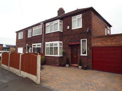 3 Bedrooms Semi Detached House for sale in Coniston Avenue, Penketh, Warrington, WA5