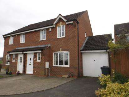 3 Bedrooms Semi Detached House for sale in Oakleigh, Northfield, Birmingham, West Midlands