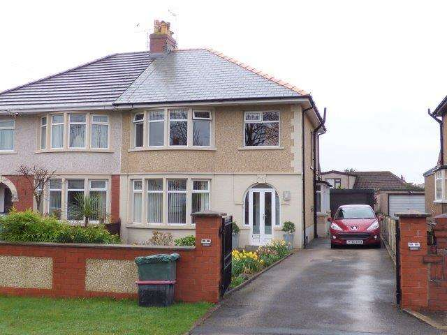 3 Bedrooms Semi Detached House for sale in Morecambe Road, Morecambe, Lancashire, LA3 3AA