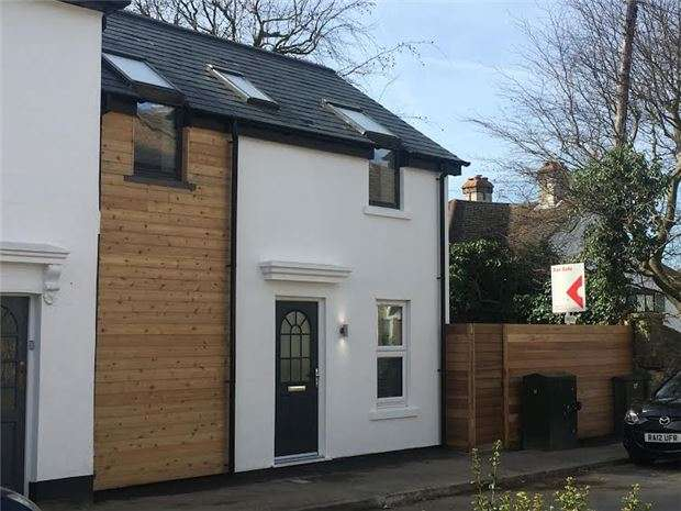 2 Bedrooms End Of Terrace House for sale in Bradbourne Road, SEVENOAKS, Kent, TN13 3PZ
