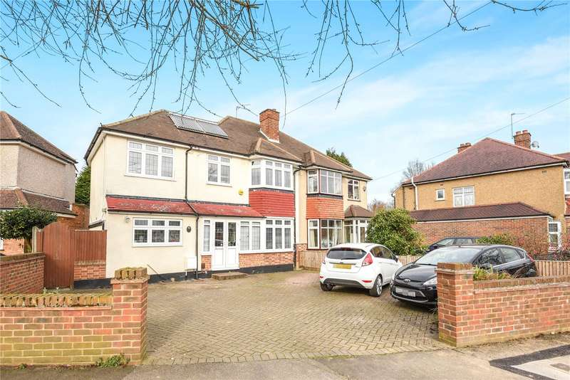 4 Bedrooms Semi Detached House for sale in Copthall Road West, Ickenham, Uxbridge, Middlesex, UB10