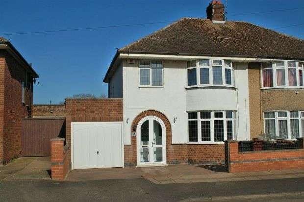 3 Bedrooms Semi Detached House for sale in Southfield Road, Duston Village, Northampton NN5 6HL