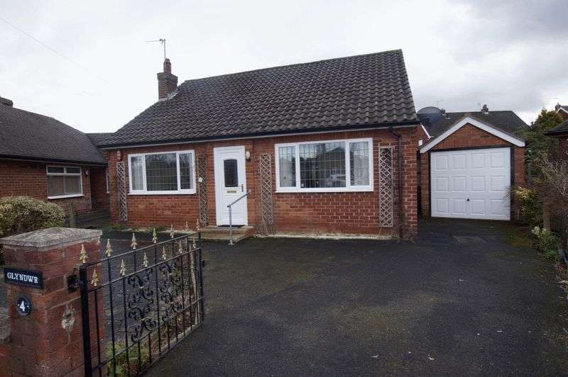 2 Bedrooms Detached Bungalow for sale in Ffordd Dylan, Acton, Wrexham
