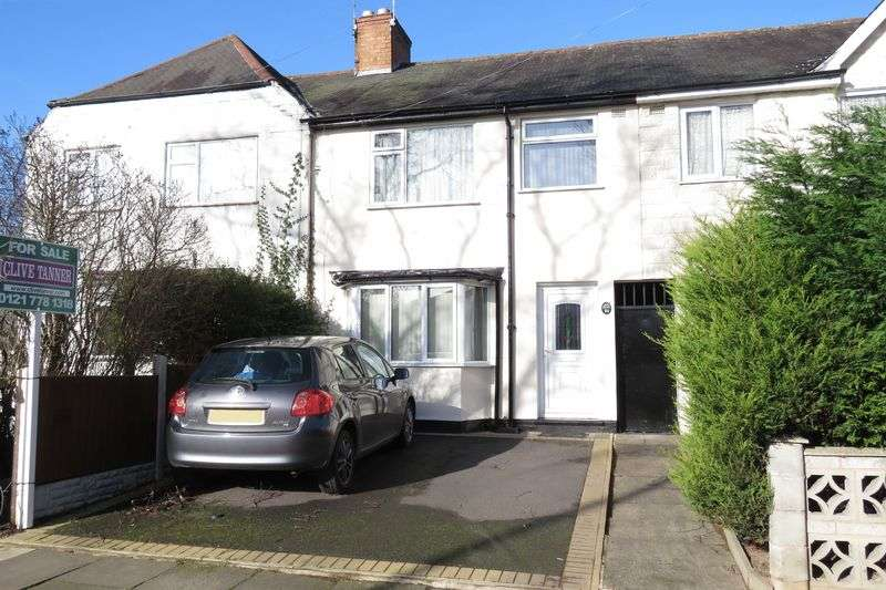 3 Bedrooms Terraced House for sale in Cateswell Road, Hall Green, Birmingham B28 8NA