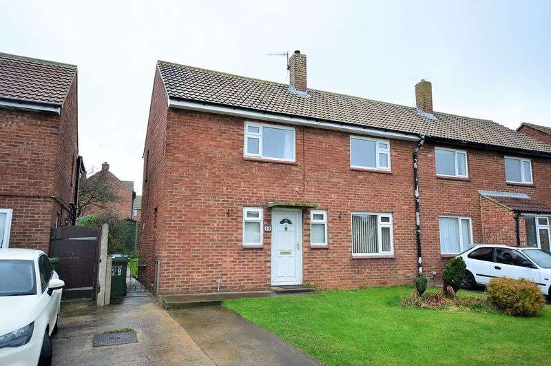 3 Bedrooms Semi Detached House for sale in Derwent Road, Whitby