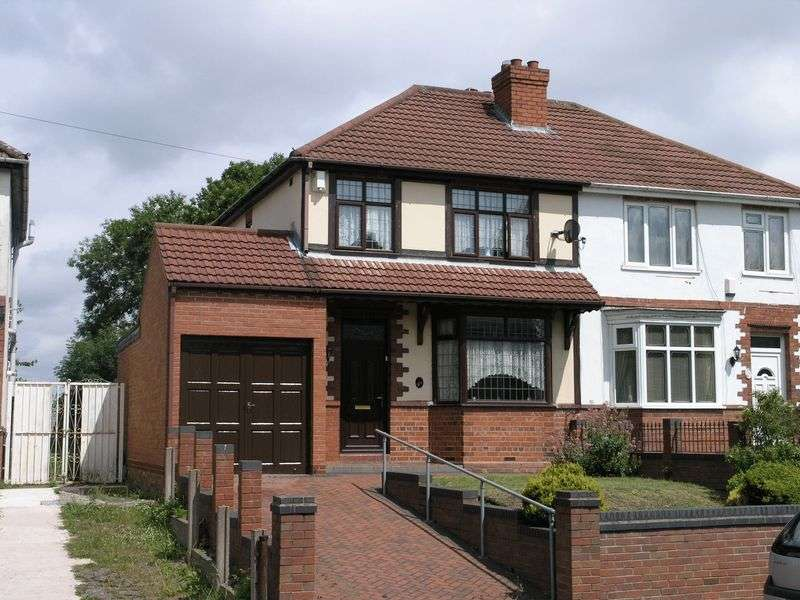 3 Bedrooms Semi Detached House for sale in Rookery Road, Lanesfield, Wolverhampton, West Midlands, WV14 9BY