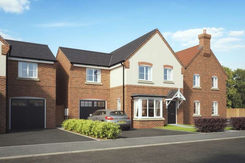 4 Bedrooms Detached House for sale in New Street, Measham, Swadlincote, DE12