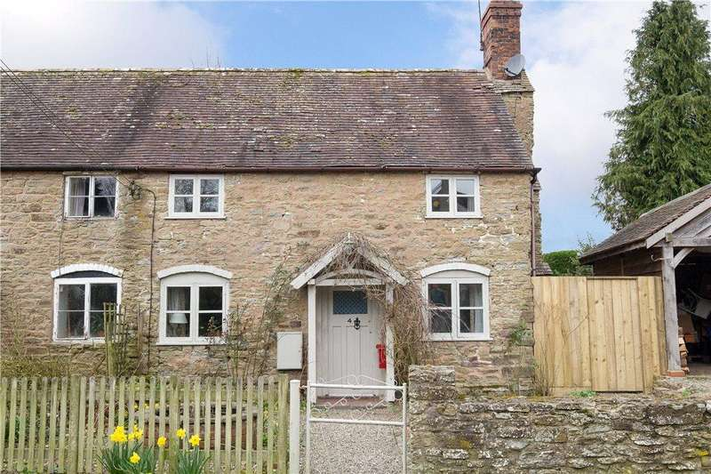 2 Bedrooms Semi Detached House for sale in Seifton Lane, Seifton, Ludlow, Shropshire, SY8