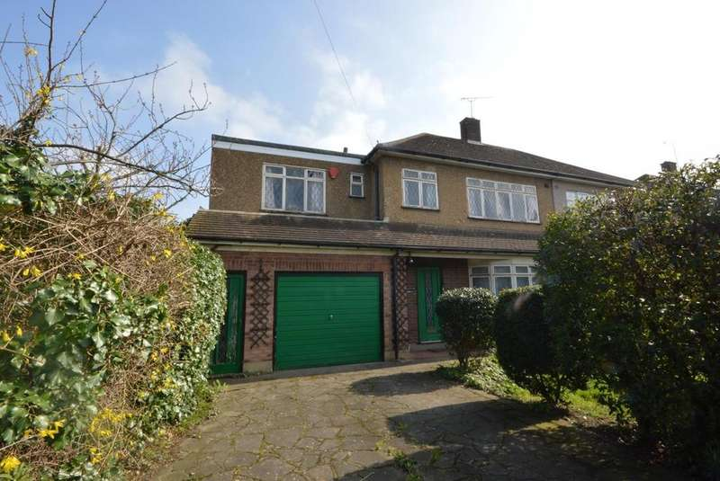 4 Bedrooms Semi Detached House for sale in Brentwood Road, Gidea Park, RM2