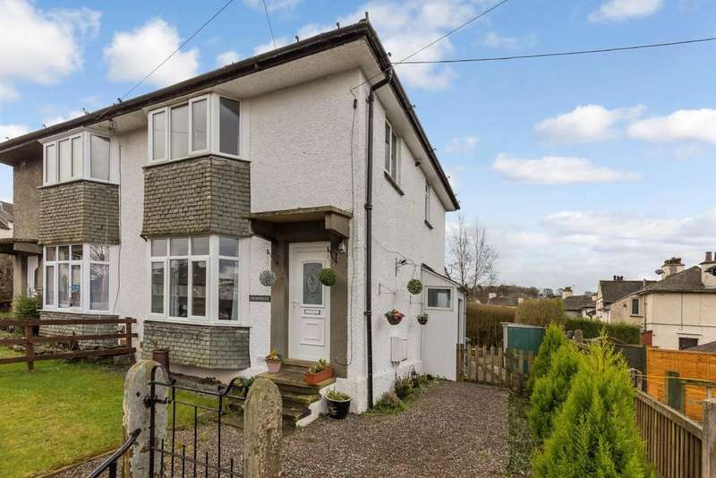 3 Bedrooms Semi Detached House for sale in Craonelle, Park Avenue, Windermere, LA23 2AR