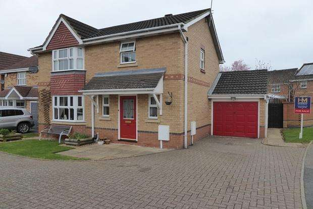 3 Bedrooms Detached House for sale in Riverstone Way, Hunsbury Meadows, Northampton, NN4