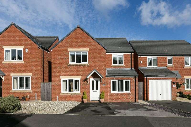 4 Bedrooms Detached House for sale in Hartley Green Gardens, Billinge, WN5 7GB