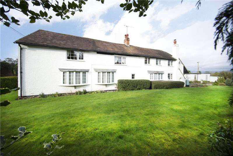 5 Bedrooms Detached House for sale in Uphampton, Ombersley, Droitwich, Worcestershire, WR9