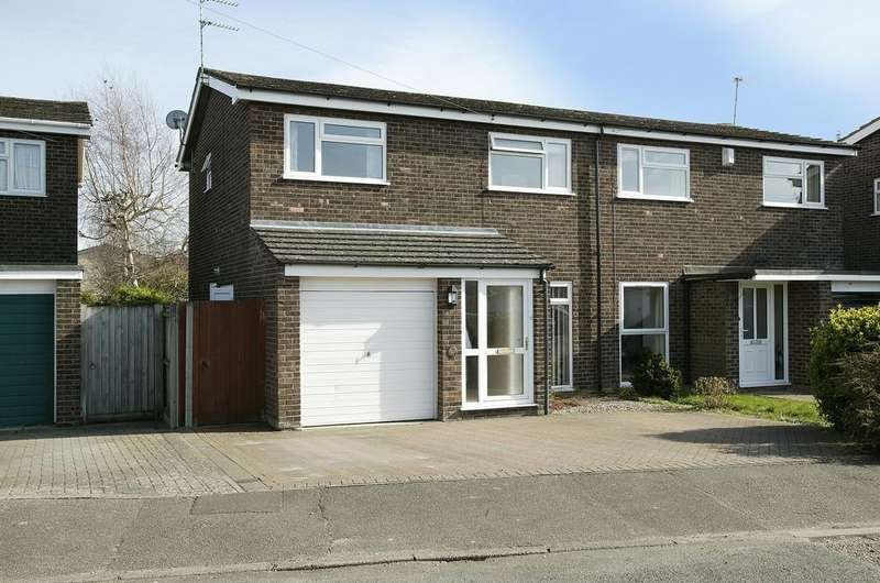 3 Bedrooms Semi Detached House for sale in Harvey Close, Hethersett