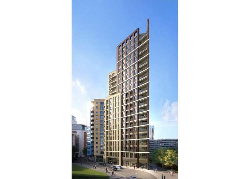 Studio Flat for sale in Royal Docks West, E16