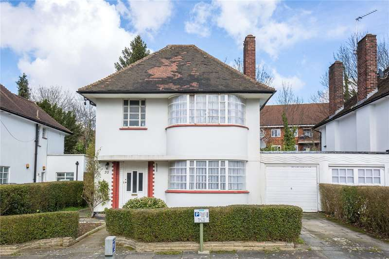 3 Bedrooms Detached House for sale in Howard Walk, Hampstead Garden Suburb, London, N2