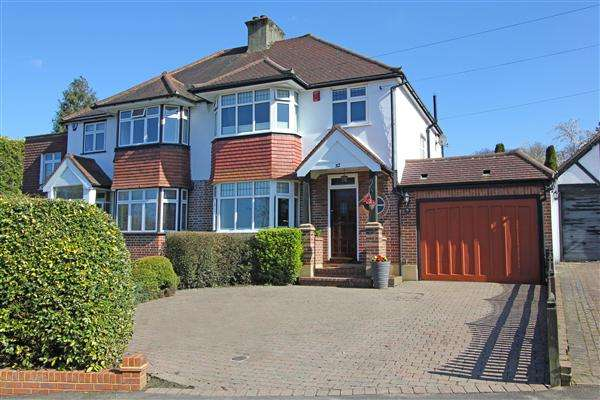 3 Bedrooms Semi Detached House for sale in Sundown Avenue, South Croydon