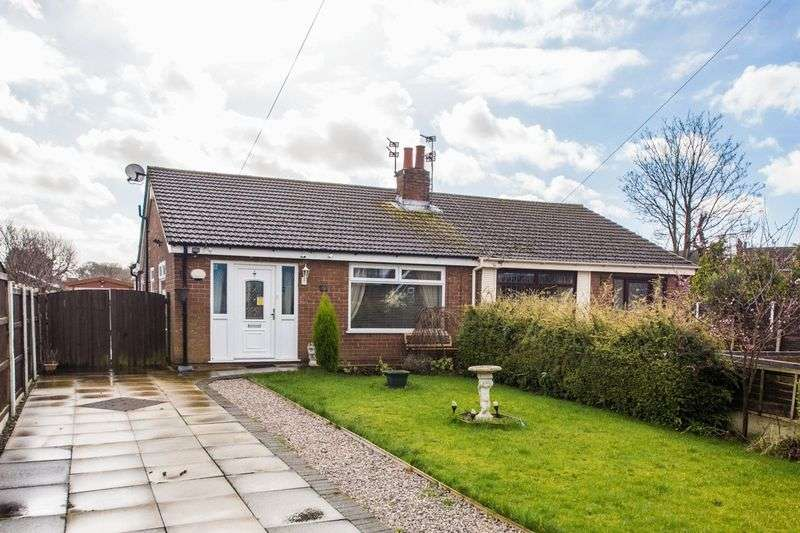 3 Bedrooms Semi Detached Bungalow for sale in Airton Place, Wigan