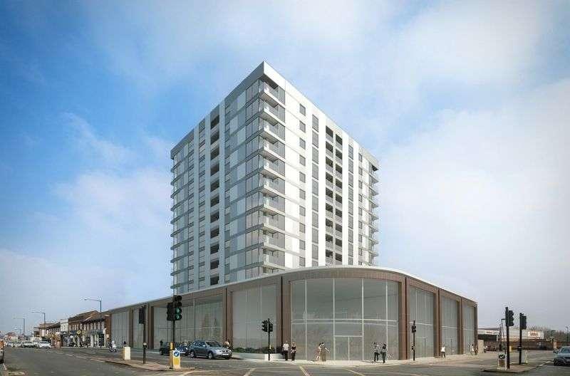 2 Bedrooms Flat for sale in Premier House,12 Station Road, Edgware, Middlesex, HA8 7AF