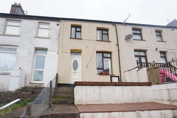 3 Bedrooms Terraced House for sale in Dafalog Terrace, Phillipstown, NEW TREDEGAR, Caerphilly