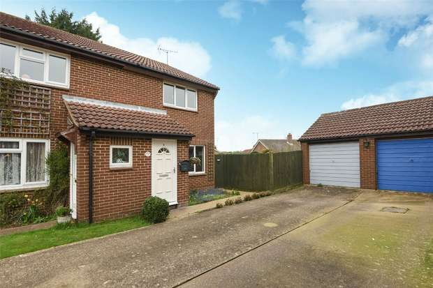 2 Bedrooms Semi Detached House for sale in Agate Close, WOKINGHAM, Berkshire