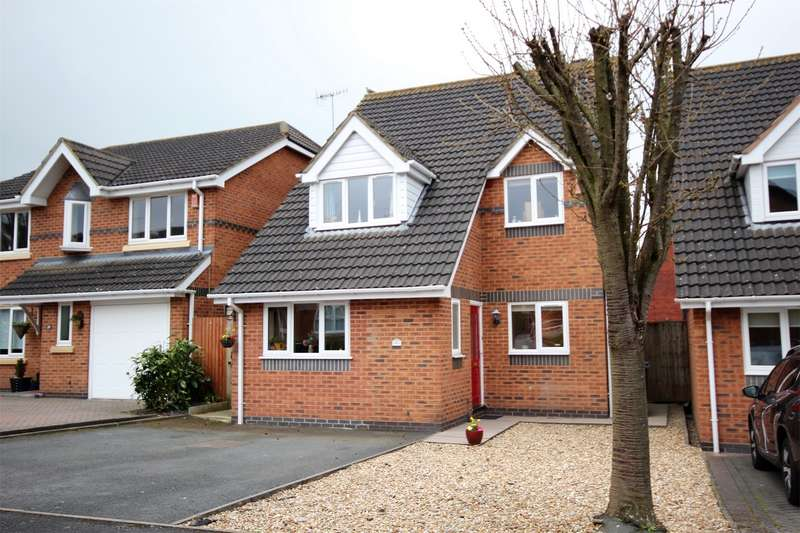 3 Bedrooms Detached House for sale in Toulouse Drive, Norton, Worcester