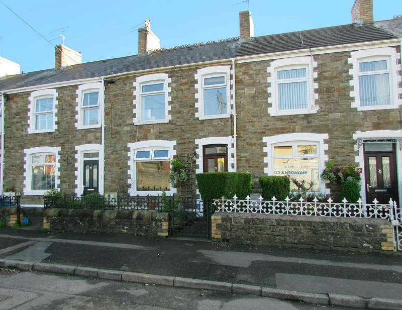 3 Bedrooms Terraced House for sale in Glossop Terrace, Pencoed, Bridgend. CF35 5NL